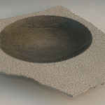 Tony Viney - stone plates and vessels